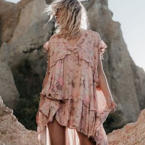 Spell & The Gypsy Wild Bloom Mini Dress